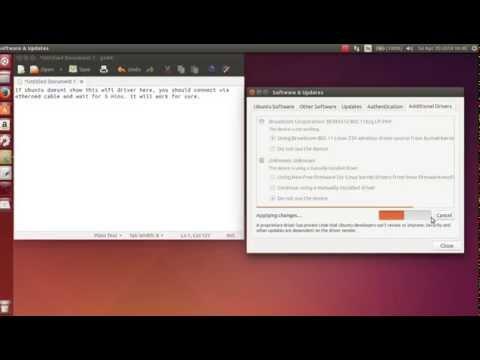 Get your Wifi working on Ubuntu
