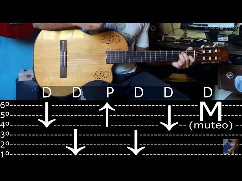Como Tocar Chamamé (Rasguido) - Tutorial Guitarra