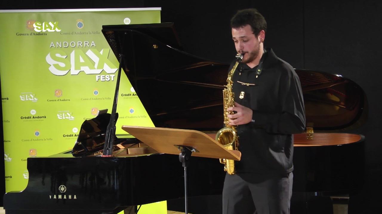 INIGO SETUAIN - 1st ROUND - V ANDORRA INTERNATIONAL SAXOPHONE COMPETITION 2018