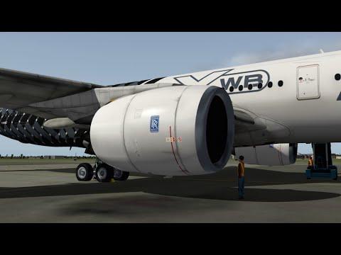 X-Plane10 #6 Airbus A350 to Miami Itn'l