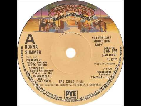 Donna Summer - Bad Girls (Dj
