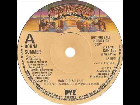Donna Summer - Bad Girls (Dj