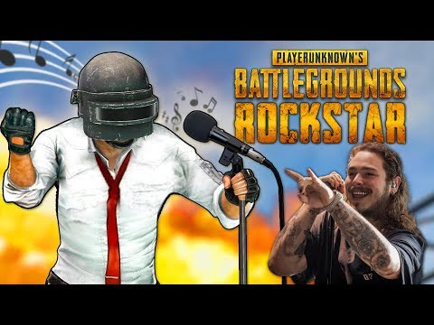 PUBG Song - rockstar with only Playerunknown's Battleground sounds