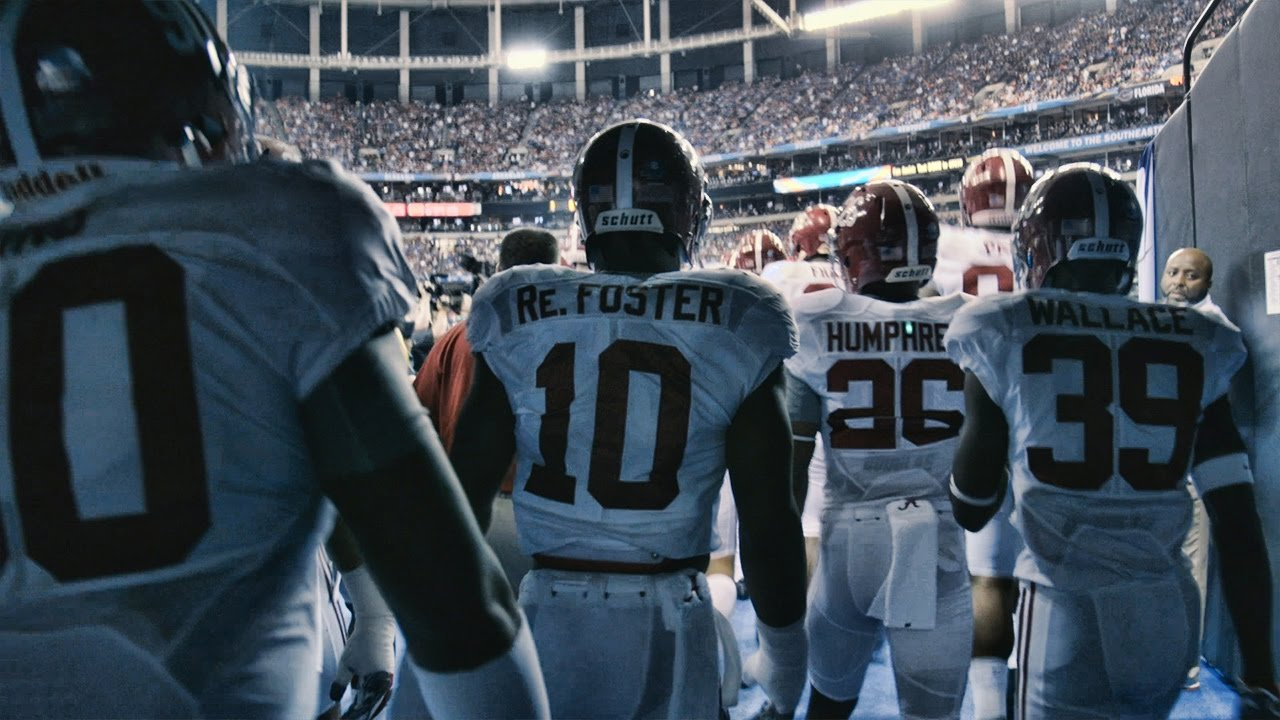 See What It S Like To Run Out Of The Tunnel With Alabama