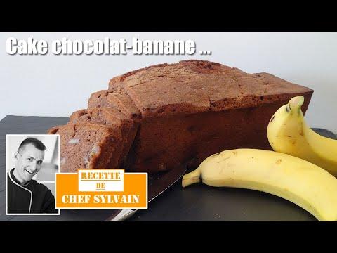 cake-banane-chocolat---recette-par-chef-sylvain
