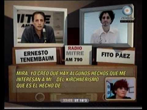 678 - La Radio ataca: Ernesto Tenembaum y Fito Páez 28-05-10