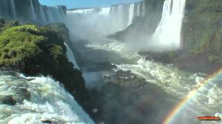 Brazil – Iguassu Falls,Devil Throat – Brazilian side – South America Part 16 – Travel Video HD