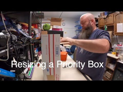 How To Alter A Priority Box For Shipping On Ebay
