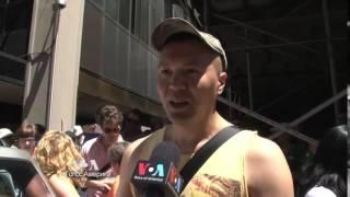 Гей-парад в Нью-Йорке:  праздник со смыслом