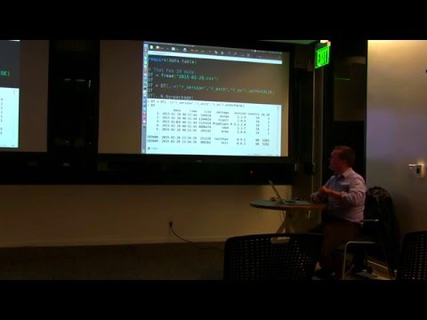 How to Stop Worrying and Start Munging your Data Meetup with Matt Dowle