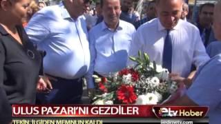 ULUS PAZARI'NI GEZDİLER