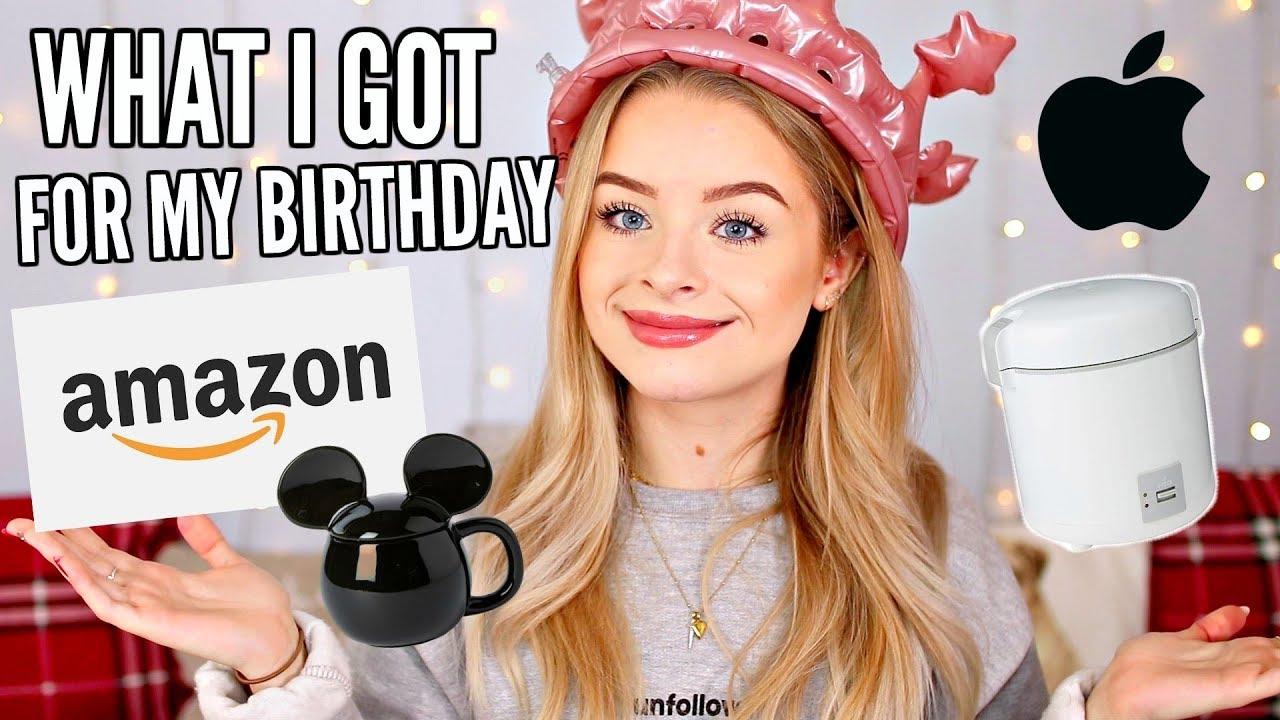 What I Got For My Birthday 2019 Sophdoesnails Youtube