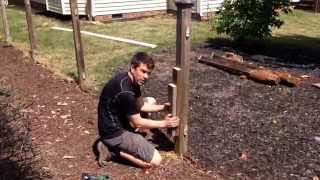 How to remove a fence post in under 5 minutes...without digging!