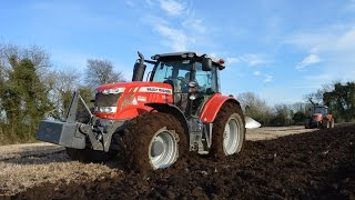 Spring ploughing 2016 - Tillage Journey Paul & David O Connor