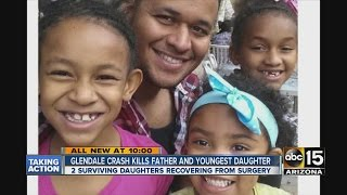 Glendale crash kills father and youngest daughter