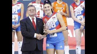 Tijana Boskovic - MVP European Championship 2017