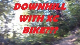 DOWNHILL ON HARDTAIL XC BIKE??? (CUBE LTD PRO 2015)