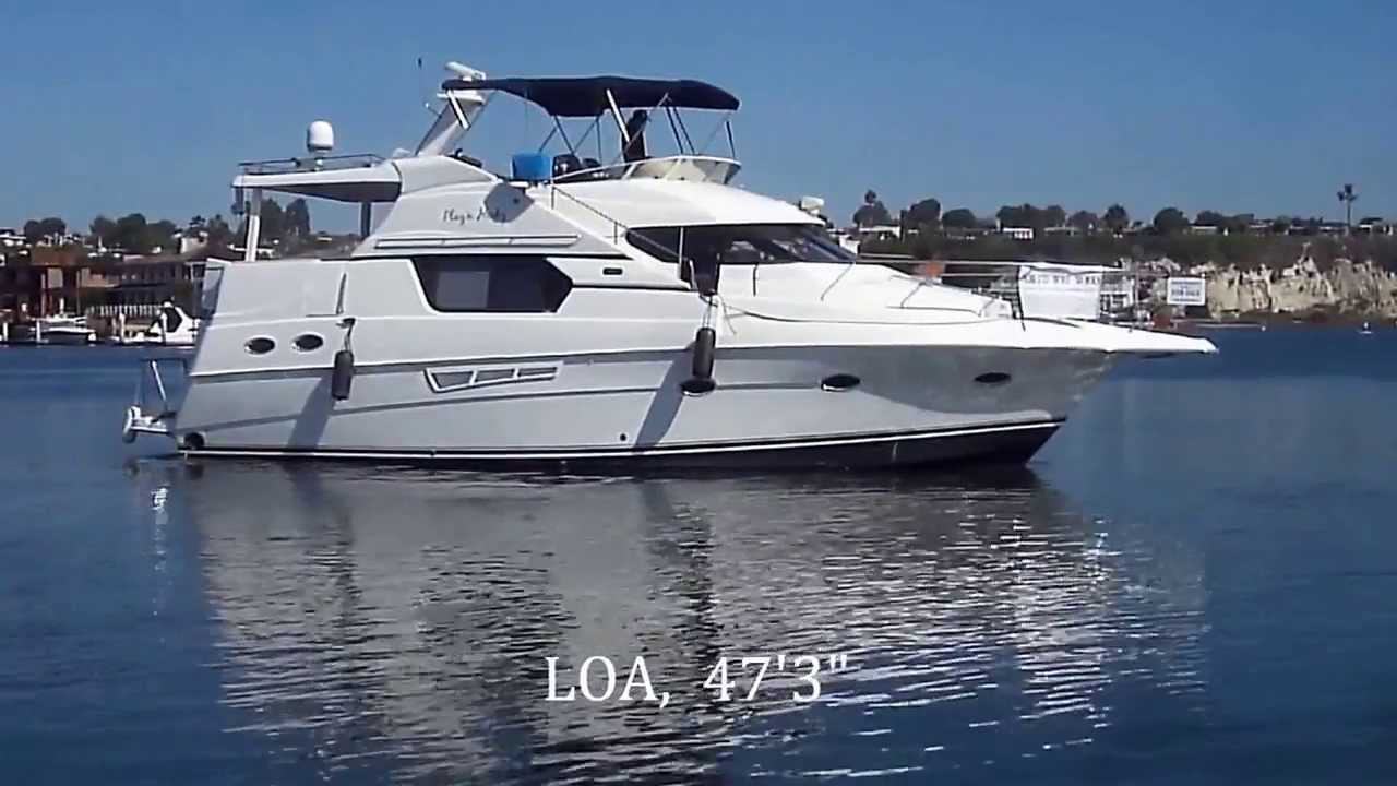Silverton 453 Aft Cabin Motoryacht Water Profiles By South