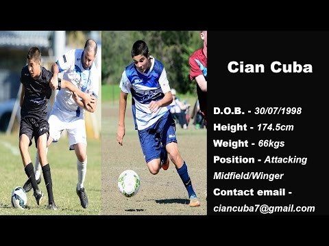 Cian Cuba Player Highlights Reel 2016