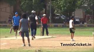 Best Sixes In Rubber Ball Cricket By Sumit Dhekale Tennis Cricketer