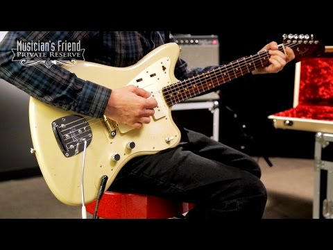 Fender Custom Shop Limited Edition Journeyman Relic Jazzmaster Electric Gutiar - Desert Sand