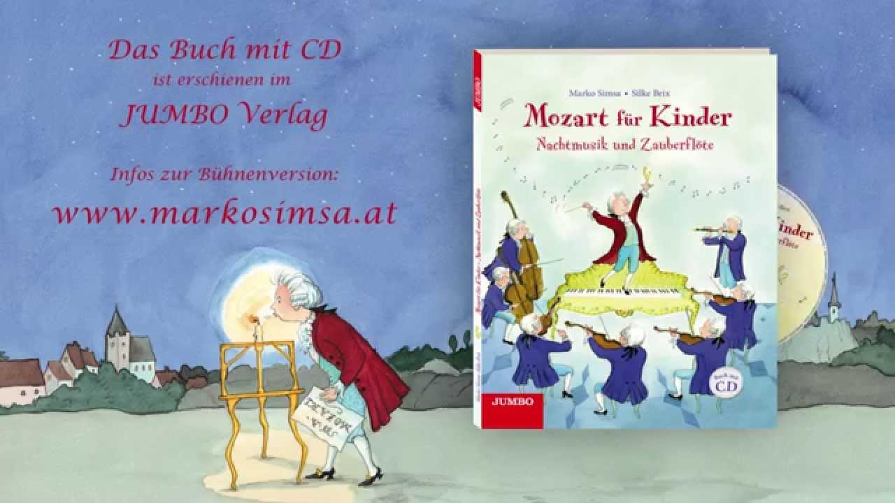 Nachtmusik Und Zauberflöte Mozart Für Kinder Marko Simsa