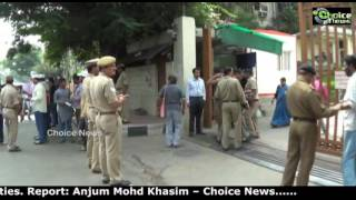 Heavy security deployed at Reserve Bank of India (RBI)