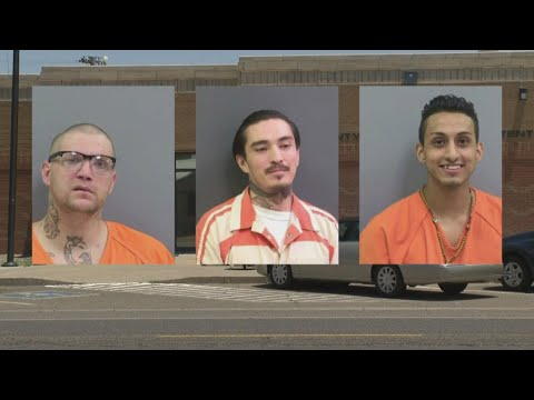 Three inmates escape Curry County Detention Center