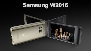 Samsung W2016 - смартфон-раскладушка с флагманскими характеристиками(, 2015-11-21T15:56:15.000Z)