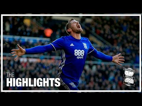Birmingham City 1-0 Fulham | Championship Highlights 2016/17