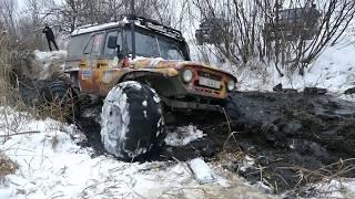 МЕГА-УАЗ хард 1-место 14 лет УАЗ-КЛУБ off road 4×4
