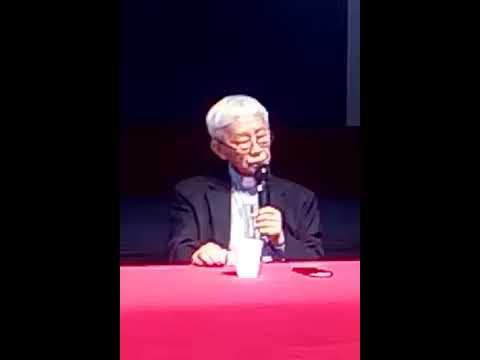 Joseph Zen 陳日君樞機榮休主教講話一小時