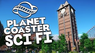 Planet Coaster Beta Gameplay - Finishing Steampunk Station! - Let's Play Planet Coaster Beta Part 7