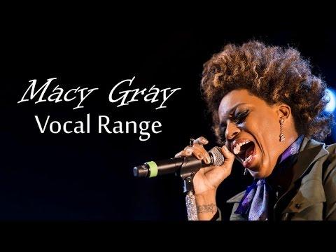[HD] Macy Gray Vocal Range (C2 - B♭6)