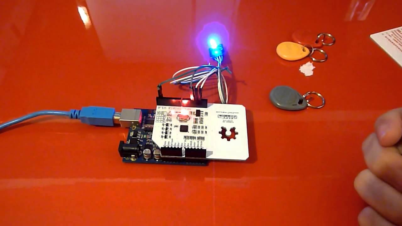 Arduino NFC Shield PN532 ISP - Module LED RGB