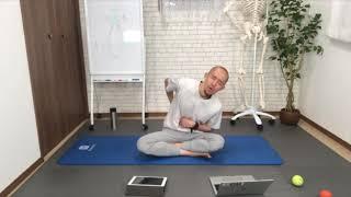 体幹のトレーニング&ストレッチ①(部分カット)