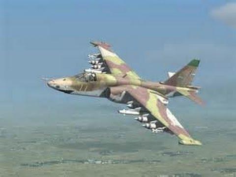 挑戰新聞軍事精華版--五架俄製「SU-25」戰機飛抵伊拉克,準備對付IS