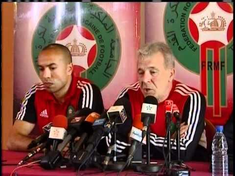 Gabon vs Maroc CAN 2012 - conférence de presse Eric Gerets