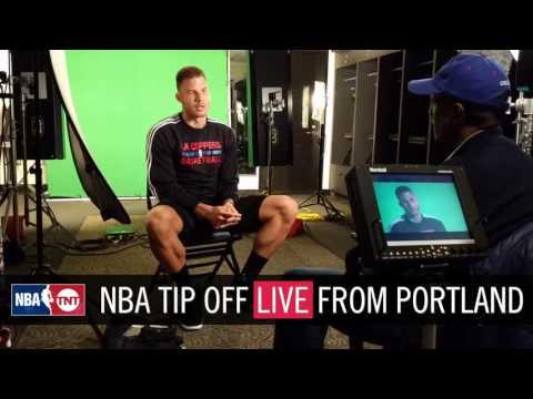 Blake Griffin sits down with David Aldridge | NBA Tip Off 2016 | NBA on TNT