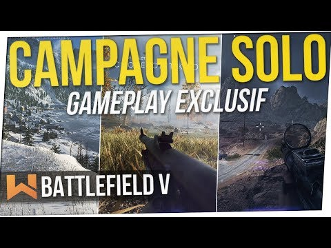 Battlefield 5 : J'ai testé le Solo | Gameplay Exclusif (No Spoilers)