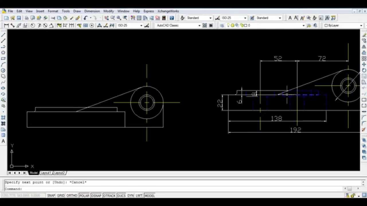 Full AutoCAD 2017 screenshot