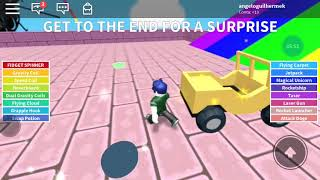 Playing Roblox Cool map