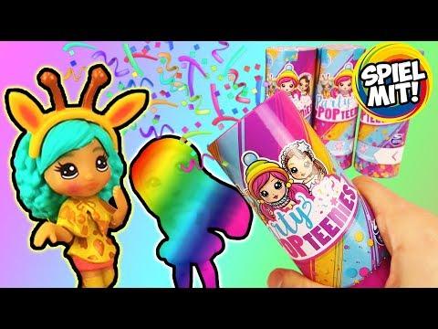6 MEGA Überraschungen | PARTY POP TEENIES Unicorn, Animal oder Winter Wonderland Surprise Püppchen