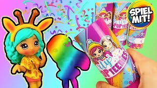 6 MEGA Überraschungen | PARTY POP TEENIES Unicorn, Animal oder Winter Wonderland Surprise Püppchen