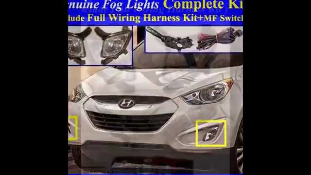 maxresdefault 2011~2015 hyundai tucson ix35 fog light lamp complete kit,wiring  at fashall.co