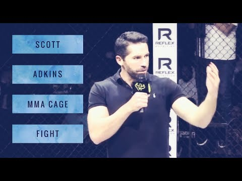 Scott Adkins MMA Cage Fight