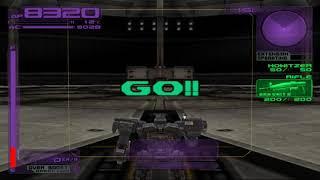 60FPS Armored Core 3 Arena Quad Leg