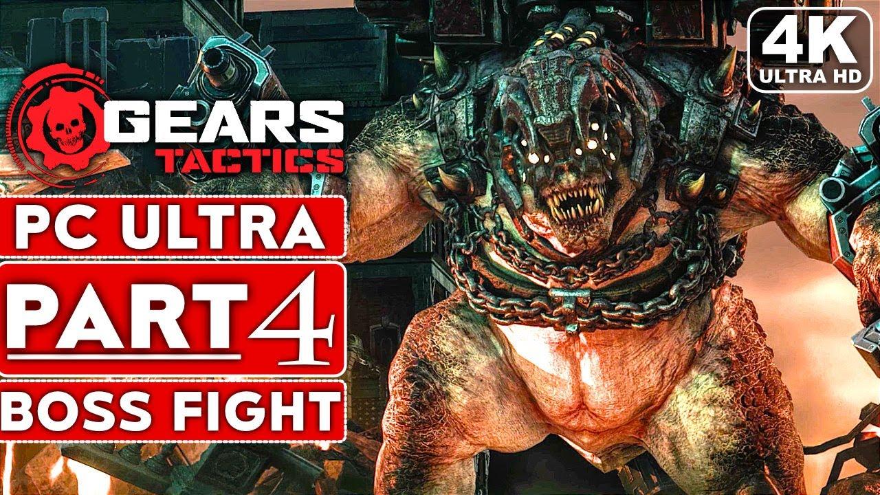 TÁCTICAS DE ENGRANAJES Guía de juego Parte 4 BRUMAK BOSS FIGHT [4K 60FPS PC ULTRA] - Sin comentarios + vídeo