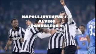 NAPOLI-JUVENTUS 1-3 la delusione di ALVINO (11\01\2015)