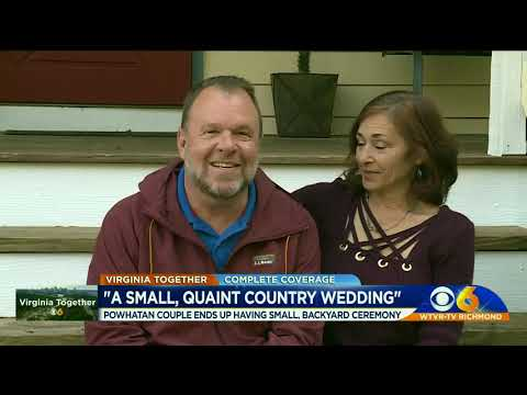 powhatan-couple-has-small-backyard-wedding